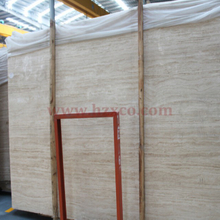 White Travertine Slab