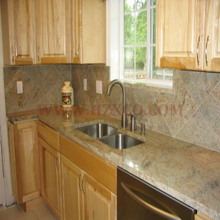 Kashimir White Granite Countertop