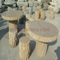 HZX-Yellow Granite Table and Bench