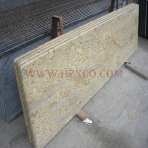 Diamond Flower Gold Granite Countertop
