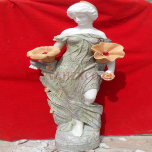 HZX-White Marble Angel Sculpture