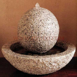 HZX-G623 White Granite Fountain