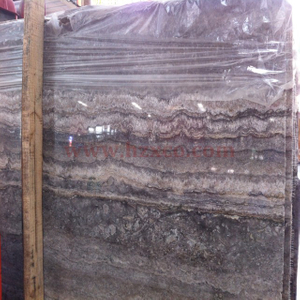 Dark Grey Travertine Slab