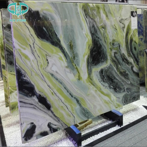 Paradise green marble slab